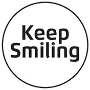KeepSmiling_logo_BW_176px