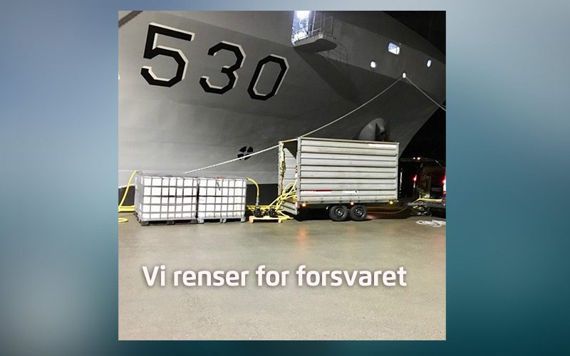 Rens for Sjøforsvaret